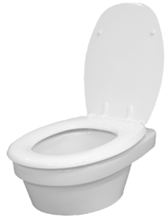 CL 310 Clivus Multrum inbouw toilet
