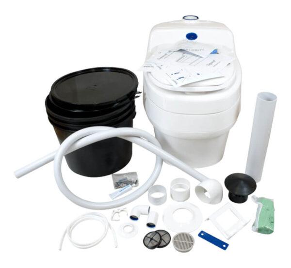 Droogtoilet villa 9010 toilet accessoires