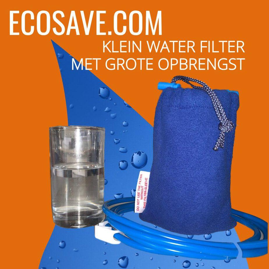 Kleine waterfilter