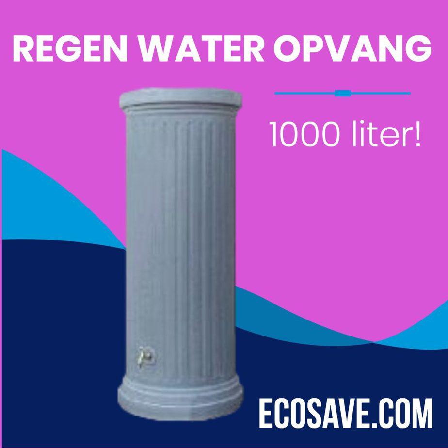 Regenwaterzuil regenwater opvang