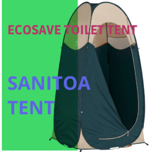 Toilettent voor camping