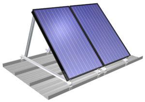 bak voor zonne-collectoren
