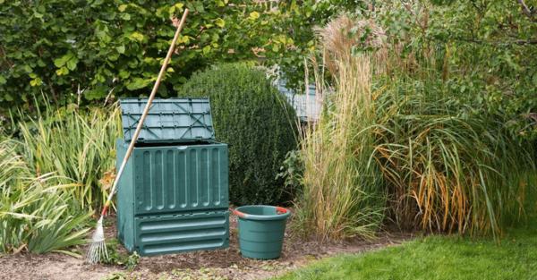 Eco-king opvouwbaar compostbak 400L, super handig 1