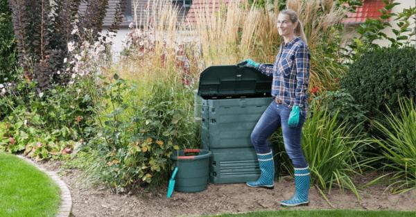 Eco-king opvouwbaar compostbak 400L, super handig 2
