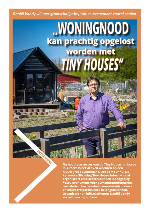 klein wonen magazine interview