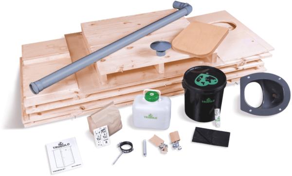 Ecosave Trobolo Kersaboem toilethuisje onderdelen