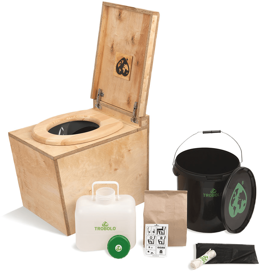 Ecosave Trobolo LuweBloem houten droogtoilet