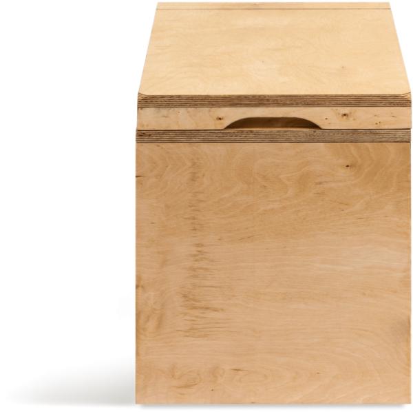 Ecosave Trobolo LuweBloem houten droogtoilet vooraanzicht dicht