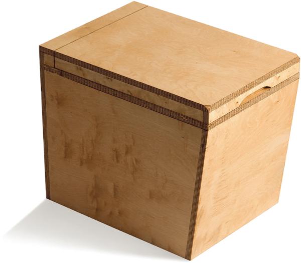 Ecosave Trobolo LuweBloem houten droogtoilet zijaanzicht dicht