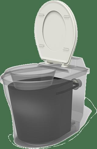 4 Nature-loo NL2 Composttoilet mét afsluitende kleppen ! 2