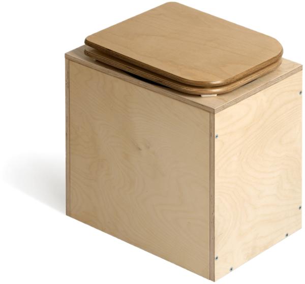 Ecosave Trobolo TeraBloem houten droogtoilet dicht 1