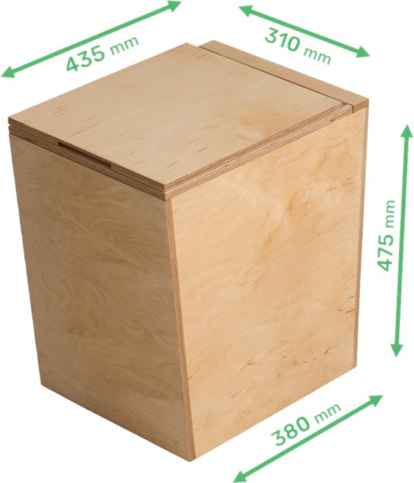 21 Trobolo® BilaBloem houten droogtoilet 1