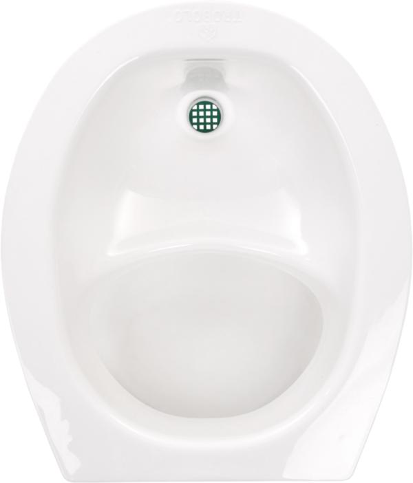 Ecosave Trobolo urinescheider los wit bovenaanzicht