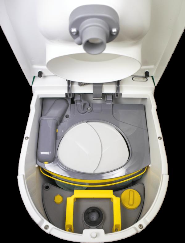 12 Separett® Tiny mét ingebouwde urine tank 1