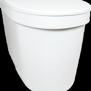 Tiny toilet Separett schuin