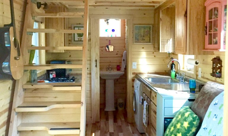 binnenkant van tiny house